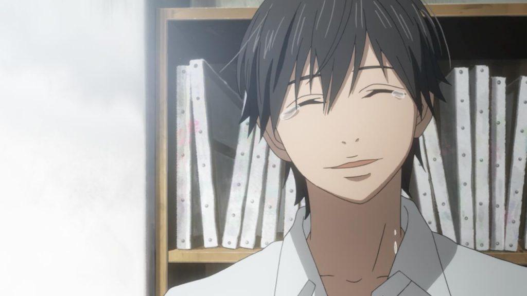 Kakeru from Anime Orange With Tears of Joy
